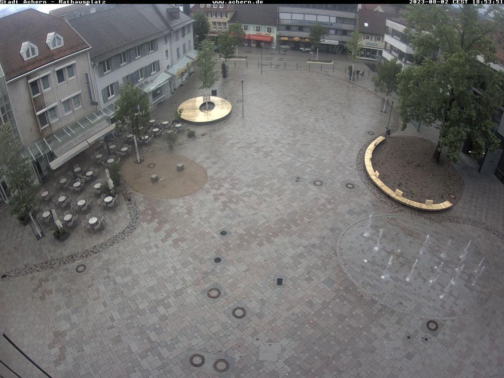 Achern – Rathausplatz webcam Live