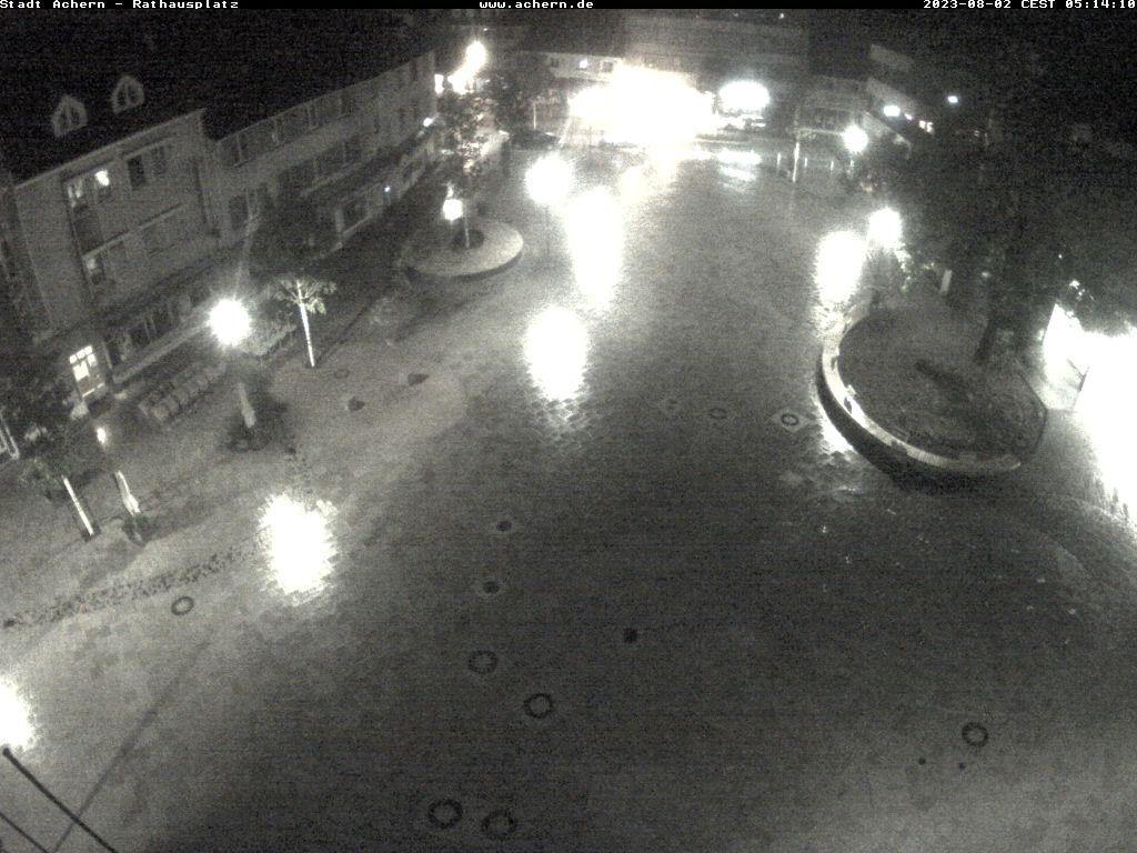 Die Webcam am Acherner Rathaus